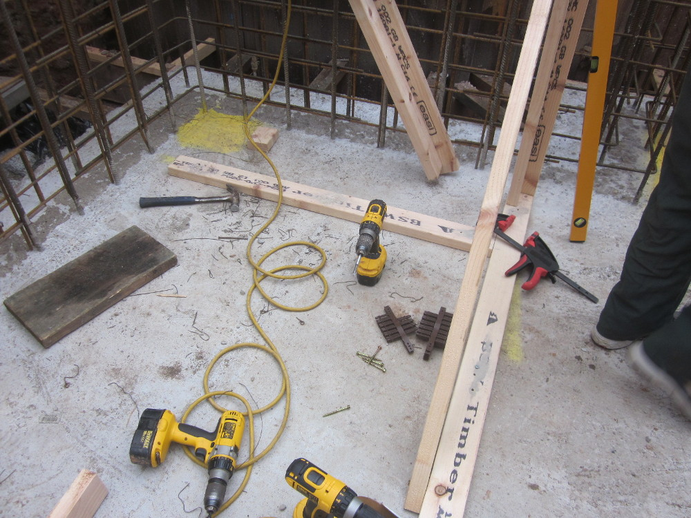 self build basement formwork