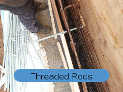 FRP threaded fibreglass rods