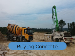 Buying waterproof concrete