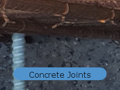 joints in basement concrete