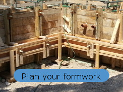 planning your resin rod formwork