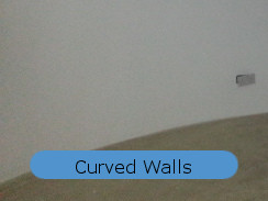 waterproof basement construction curved walls