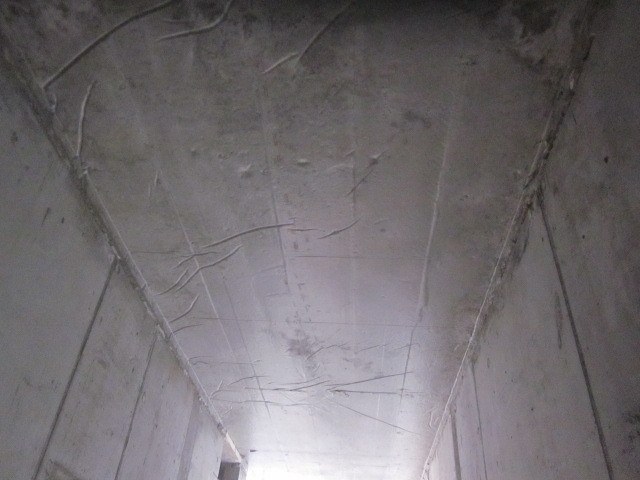 polythene ceiling waterproof concrete basement