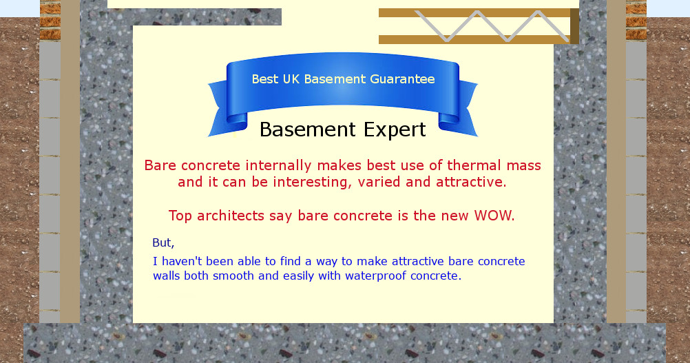 self build waterproof basement formwork membrane concrete